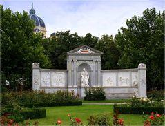 Grillparzer-Denkmal...