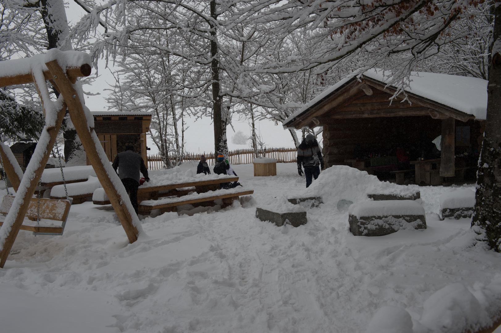 Grillplatz Thanwald 3. Feb. 2019