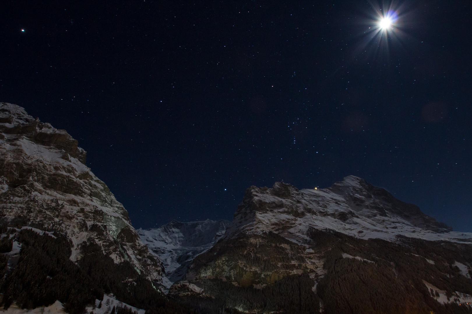 Grindelwald bei Nacht