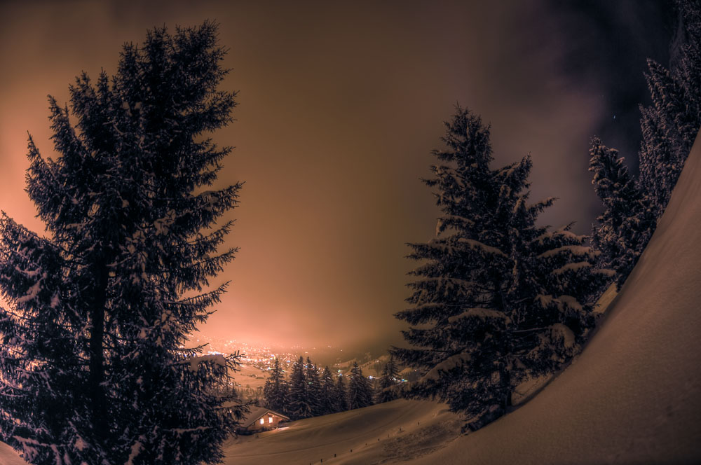 * Grindelwald by night *