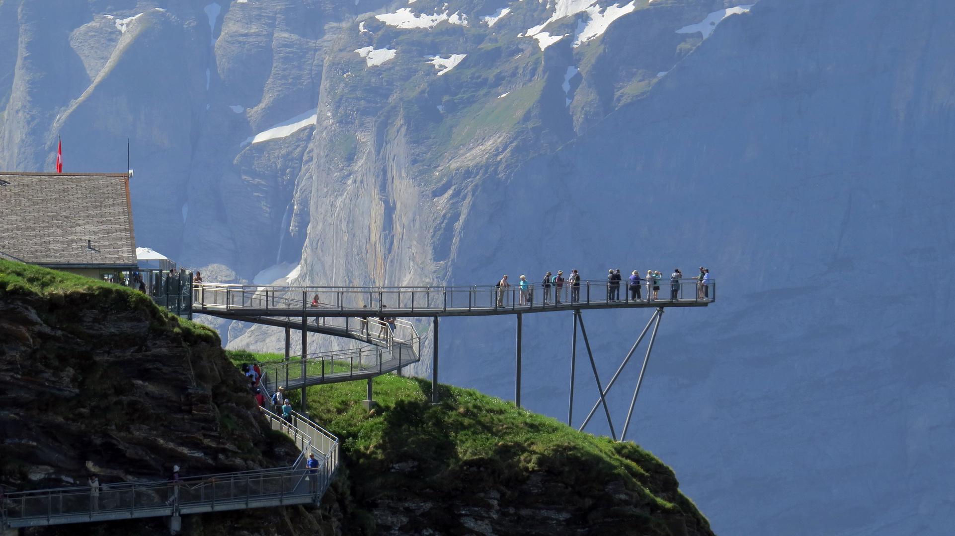 Grindelwald-First - Aussichtsplattform