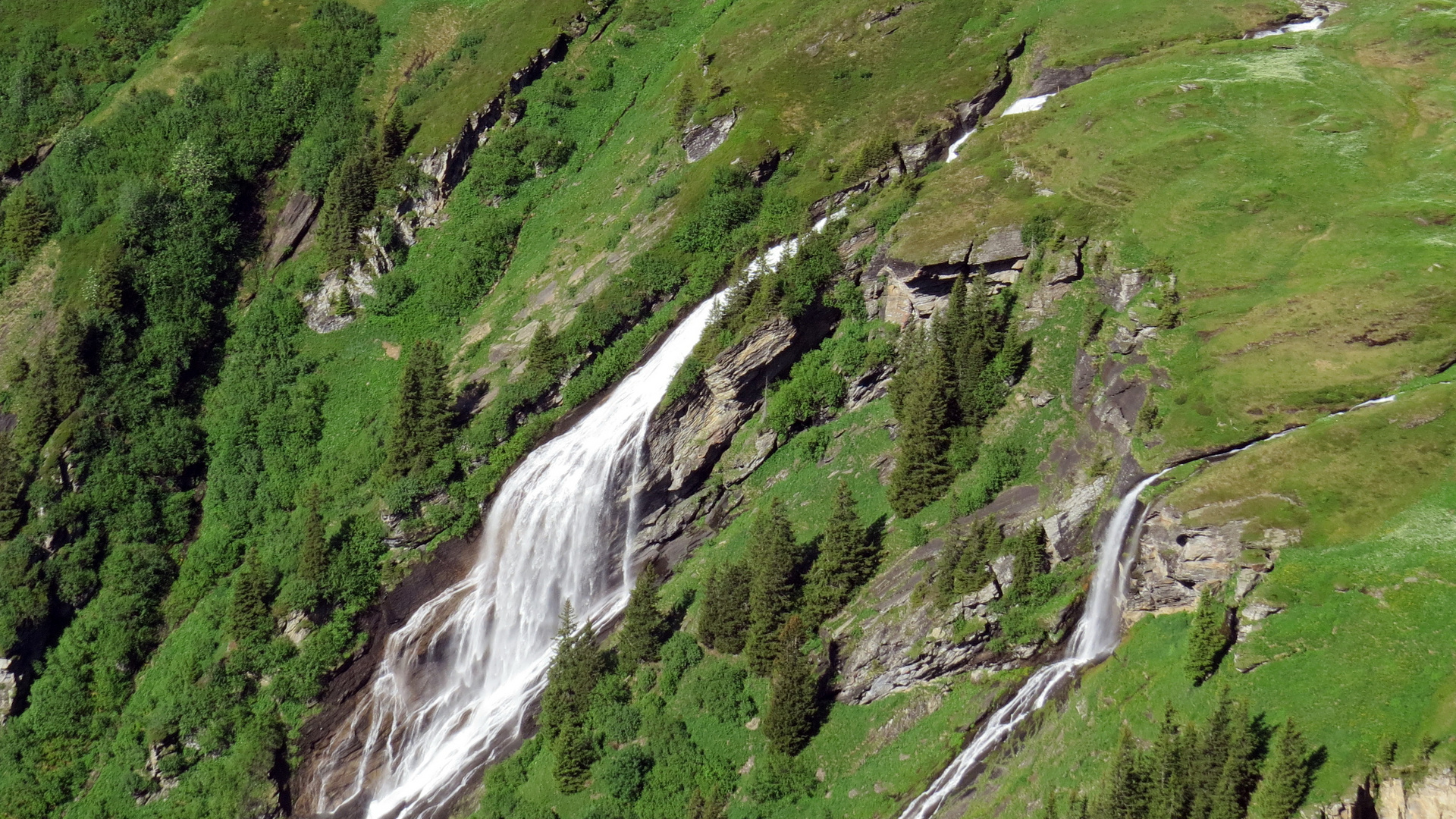 Grindelwald-First Wassefall