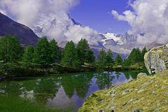 Grindjisee bei Zermatt