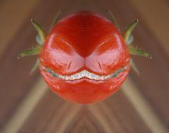- ...grinsende Tomate -