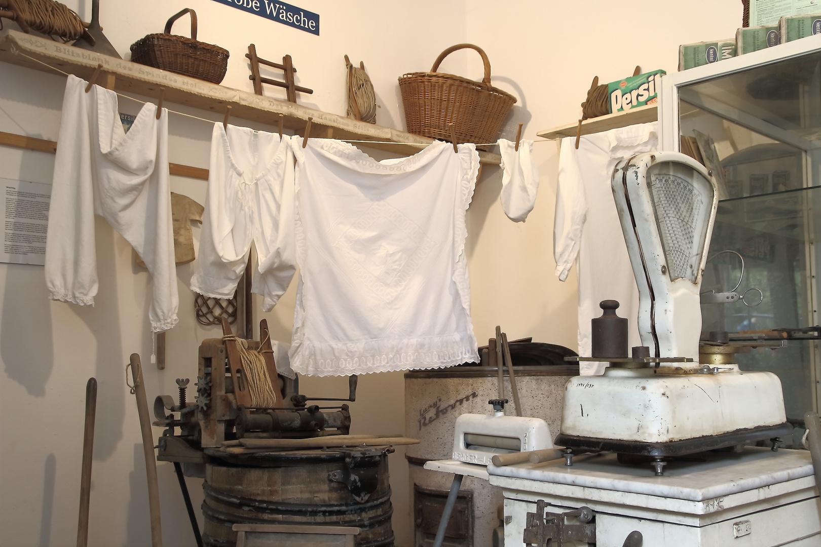 Grobe Wäsche