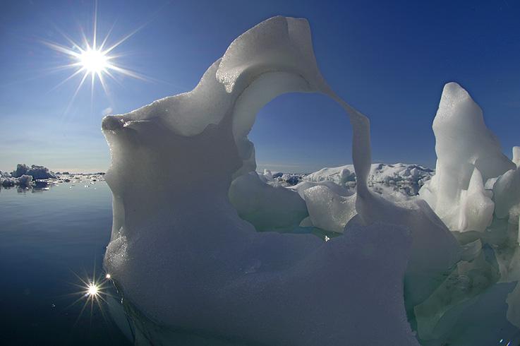 Grönland - Eiskunst