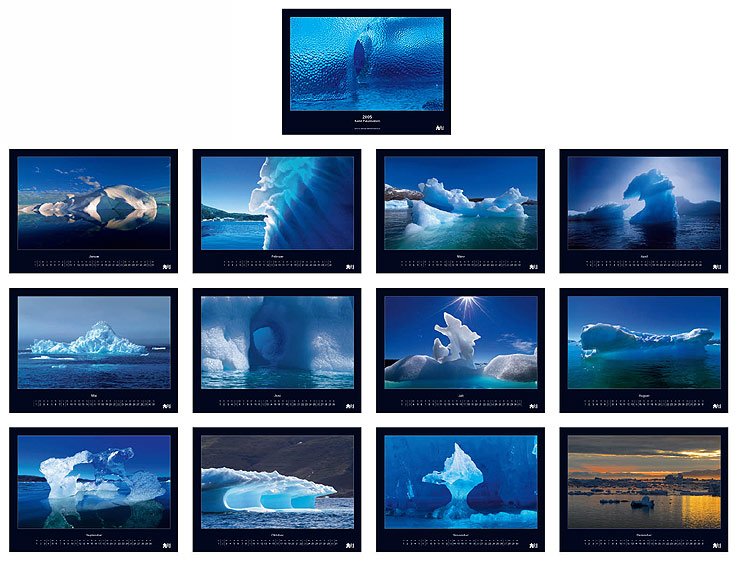 Grönland Kalender 2005