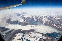 Grönland von oben