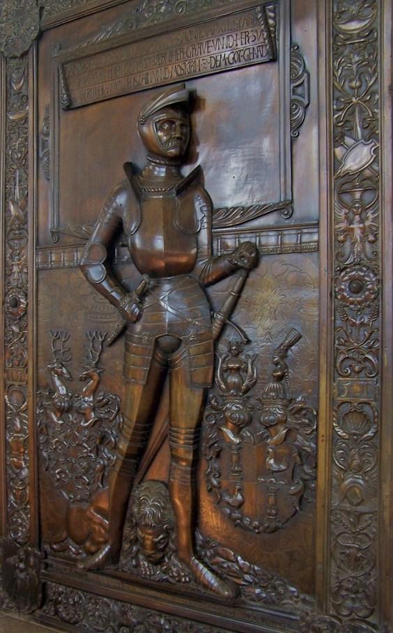 Größtes Bronze - Epitaph Europas