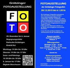 Grötzinger Fotoausstellung