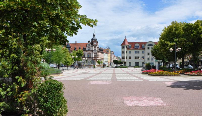 GROITZSCH bei Leipzig -Marktplatz