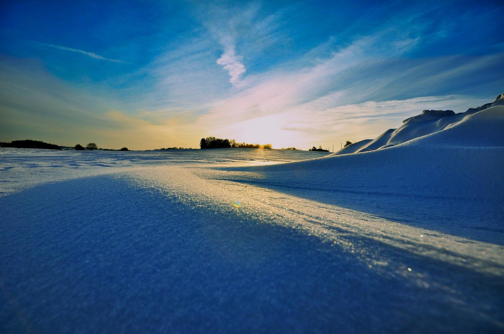 Groß Aschen im Winter