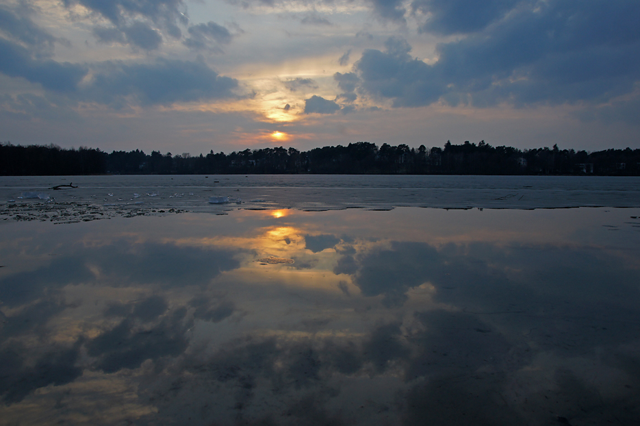 Groß Glienicker See, 17.03.2010 – 02
