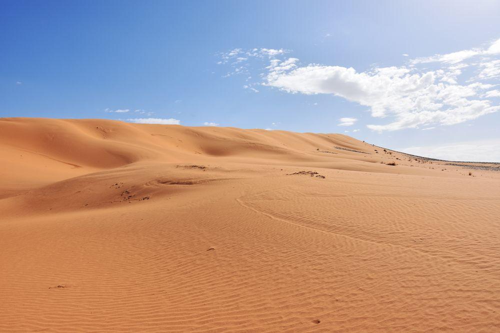 Großartige Wüstenregion bei Tafraout Hassi Fougani
