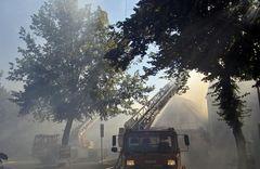 Großbrand im Lindendorf
