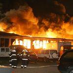 Großbrand in Hannover