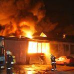 Großbrand in Hannover - Durchzündung