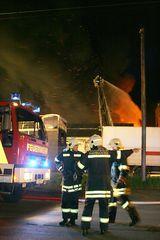 Großbrand in Hannover - Einsatzbefehl