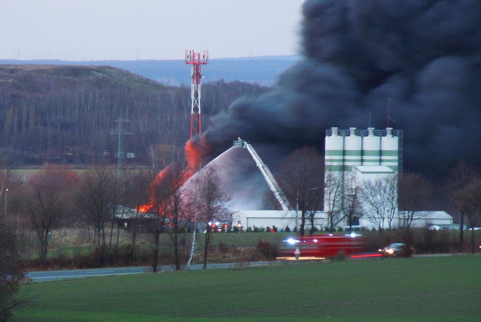 Grossbrand in Nienstädt 2
