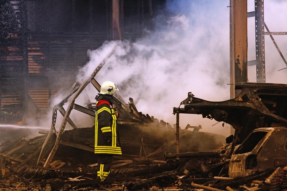 Großbrand in Wuppertal