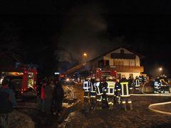 Großbrand vernichtete Schreinerei (2)