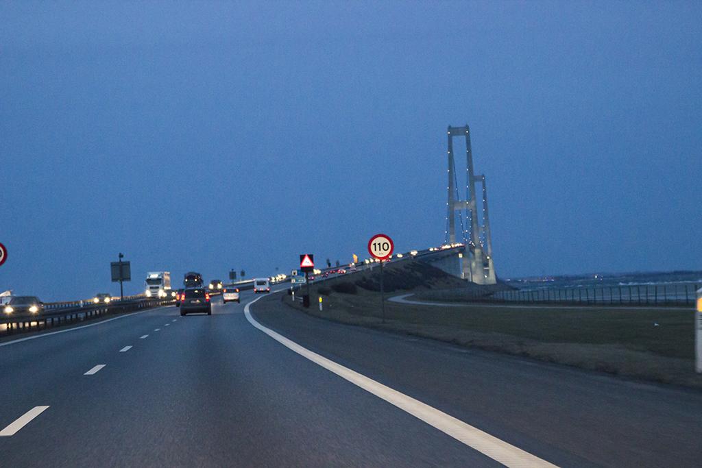 Grosse Belt-Brücke, Dänemark