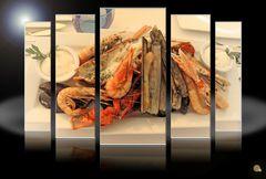 große Fischplatte