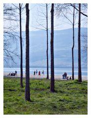 Große Landschaften mit kleinen Leuten #2: Strand