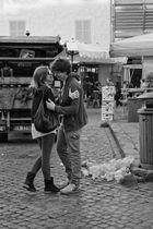 Große Liebe und ein Häufchen Mist.. (Römische Impressionen..)