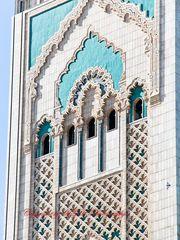 Große Moschee - Casablanca (Detail)