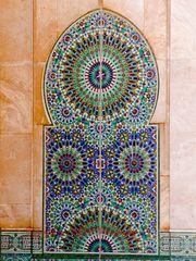 Große Moschee - Casablanca (Detail II)