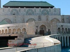 Große Moschee - Casablanca (Rückseite)