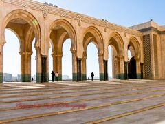 Große Moschee - Casablanca Terasse
