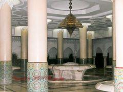 Große Moschee - Casablanca. Unterer Bereich