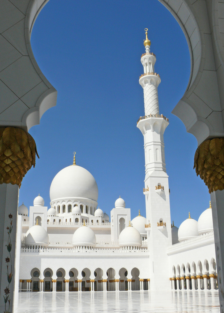 Grosse Moschee in Abu Dhabi 4
