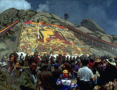 Große Thanka nahe Kloster Sera