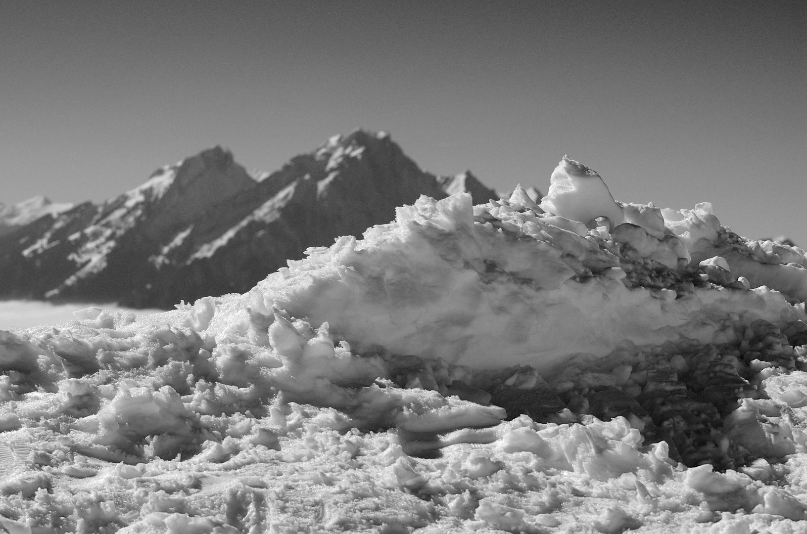 Grosse und kleine Berge