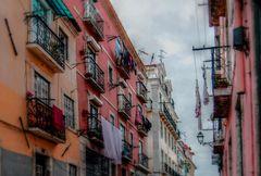 Große Wäsche in Lissabon