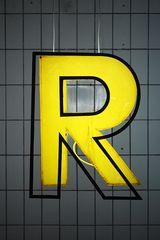 Großer Auftritt für ein R