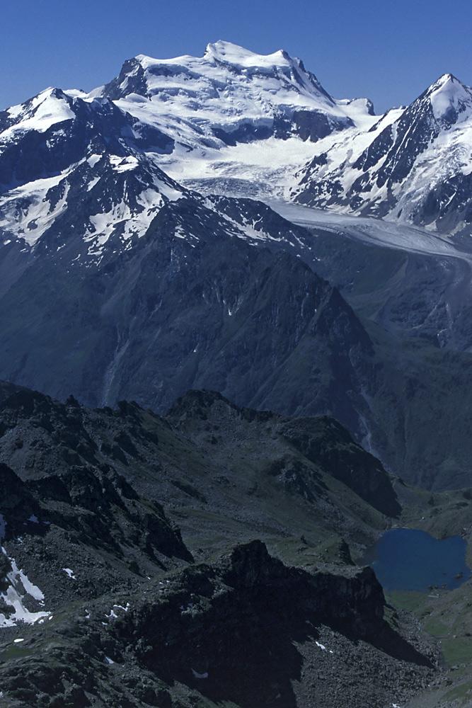 Großer Gletscher-Berg