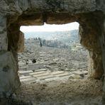 Großer jüdischer Friedhof in Jerusalem