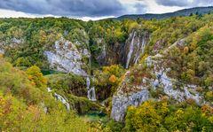 Grosser Wasserfall 1, Nationalpark Plitvicer Seen, Kroatien