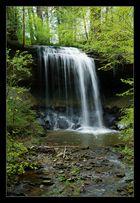 grosser Wasserfall in Rothenburg