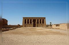 Grosses Hypostyl des Tempels von Dendera