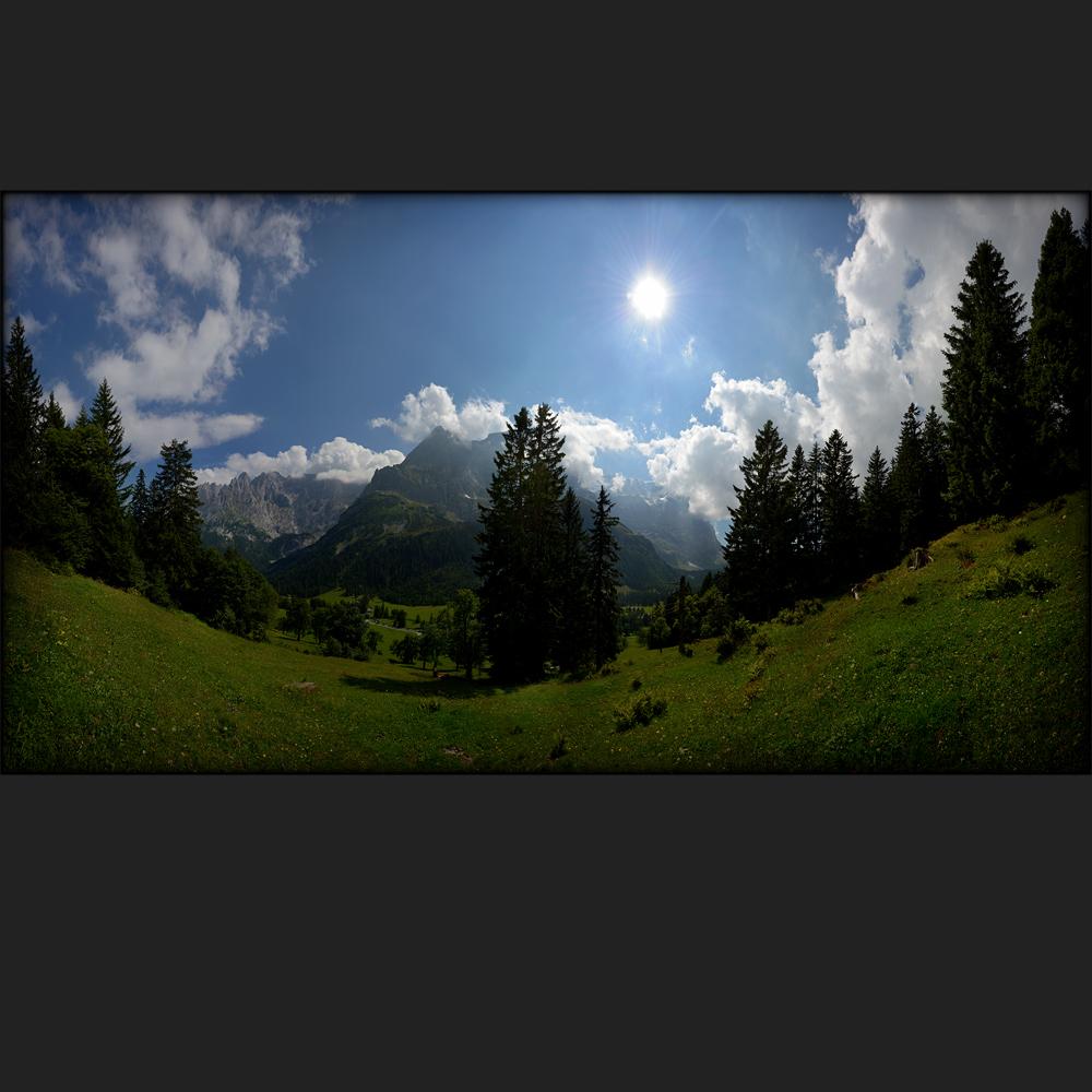 grosses Landschaftsbild