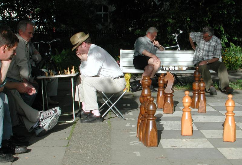 Großes und kleines Schachspiel