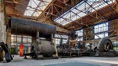 Großgasmaschine