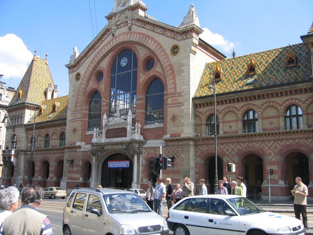 Großmarkthalle Budapest