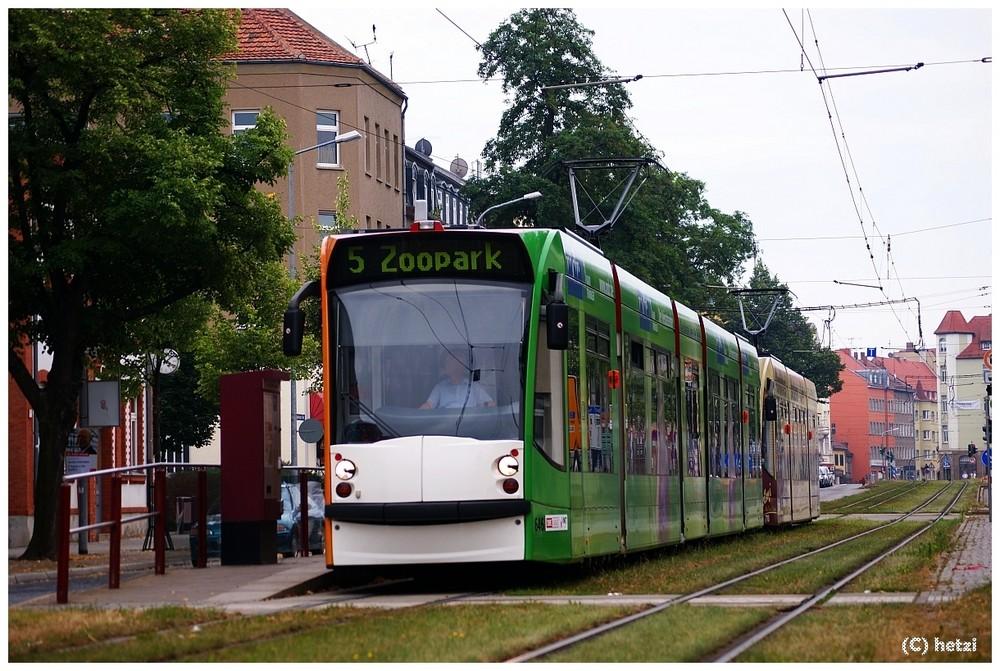 Großzug auf der Linie 5