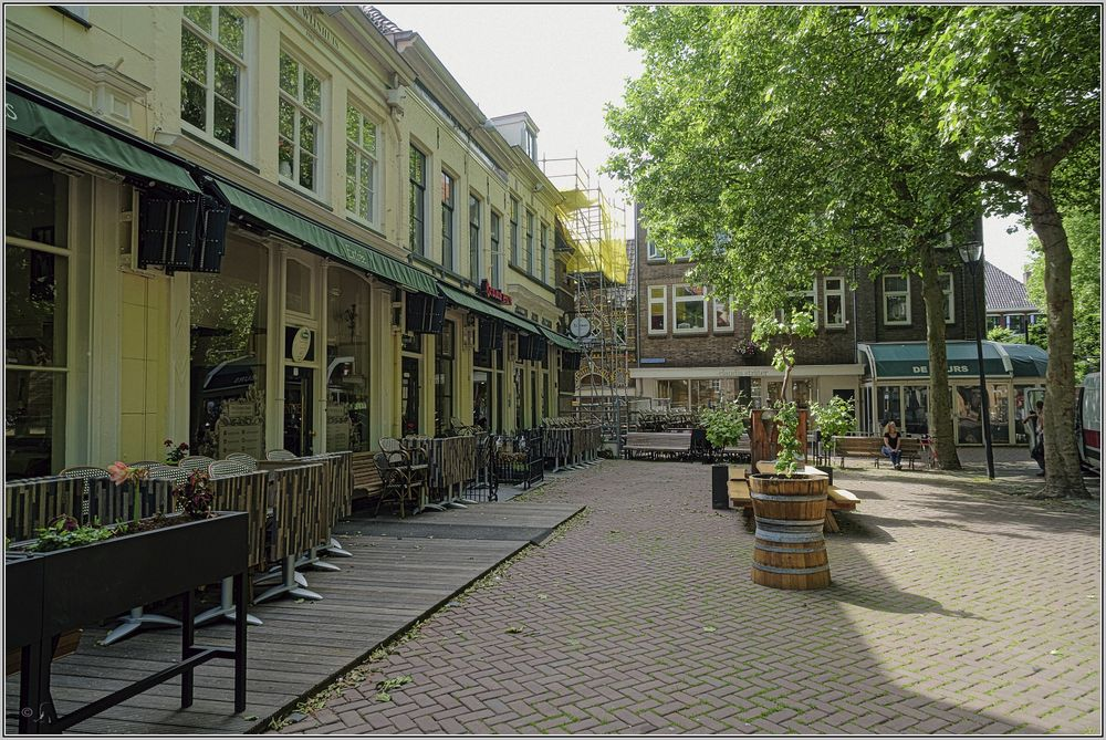 Grote Kerkplein in Zwolle...
